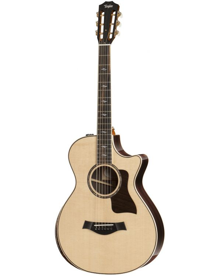 Taylor 812ce 12-Fret DLX Electro Acoustic Guitar, Natural