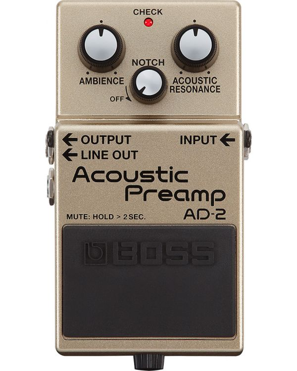 Boss AD-2 Acoustic Preamp Guitar Pedal