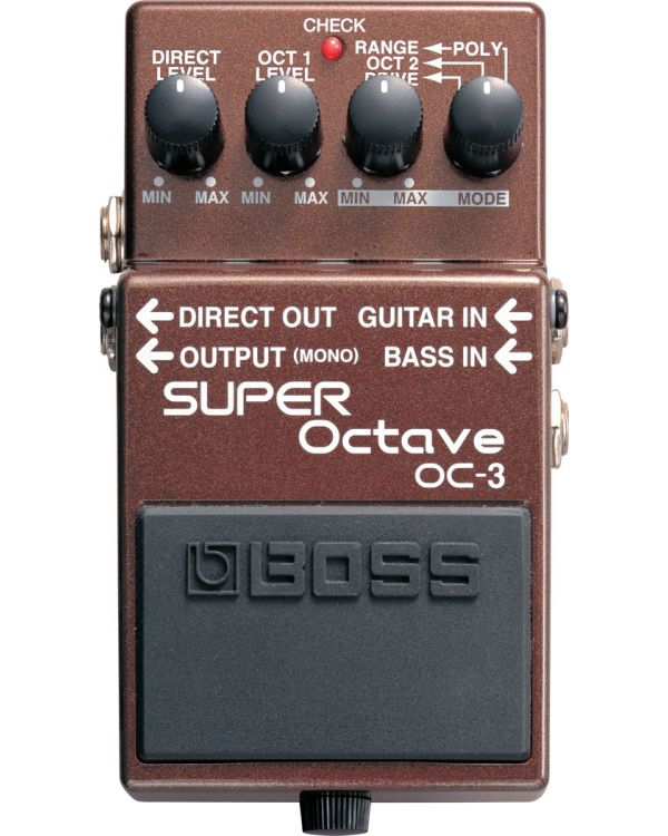 Boss OC-3 Super Octave Pedal for Guitar and Bass