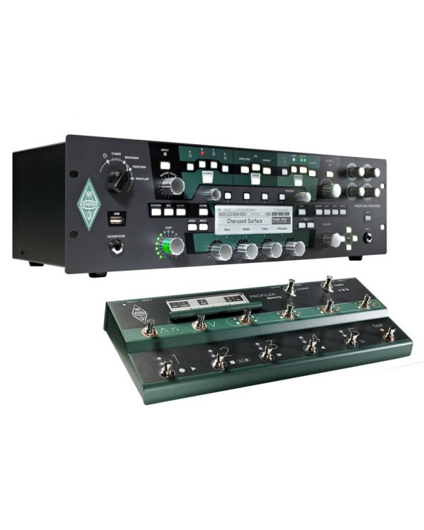 Kemper Profiler PowerRack with Remote Set