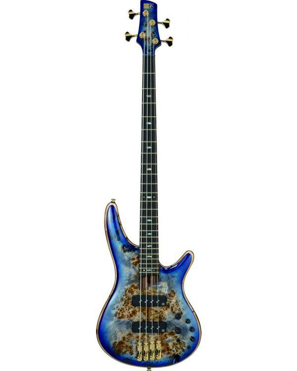 Ibanez SR2600-CBB SR Premium Bass W/Poplar Burl Top Cerulean Blue Burst