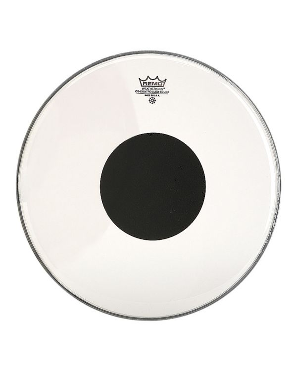 Remo Controlled Sound Clear Black Dot Drum Head for Tom and Snare 12 Inch