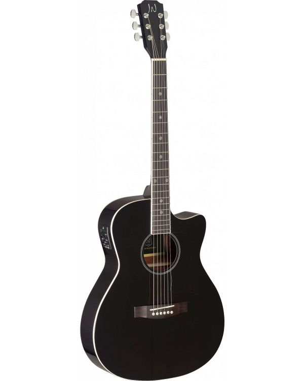 JN Guitars Bessie Electro-Acoustic Guitar Black