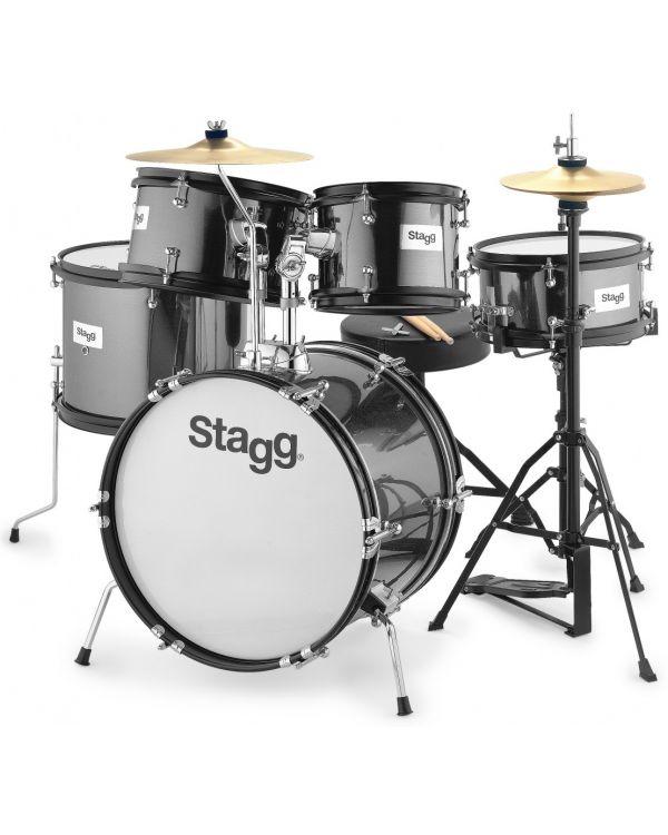 Stagg 5-piece Junior Drum Set with Hardware