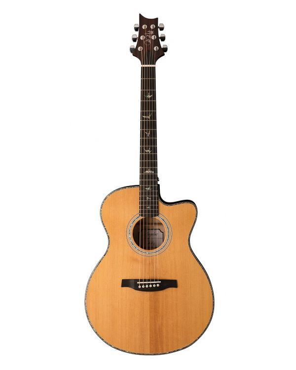PRS SE Angelus A50EBG Cutaway Electro-Acoustic Guitar Natural