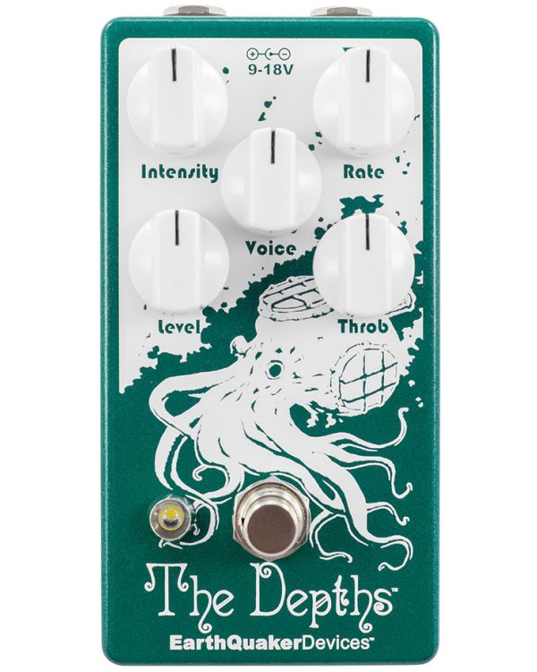 Earthquaker Devices The Depths V2 Optical Vibe Circuit