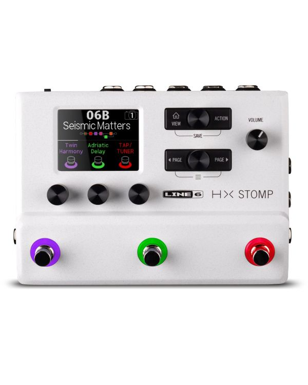 Line 6 HX Stomp Limited Edition White Version