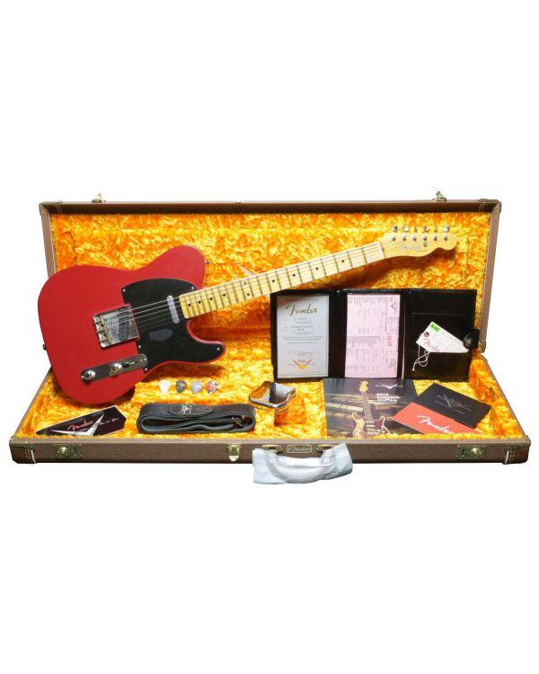 Fender Custom Shop '52 Telecaster Journeyman Relic MN Dakota Red