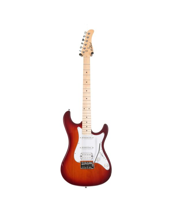 Eastcoast GS100H Deluxe Electric Guitar Tobacco Sunburst