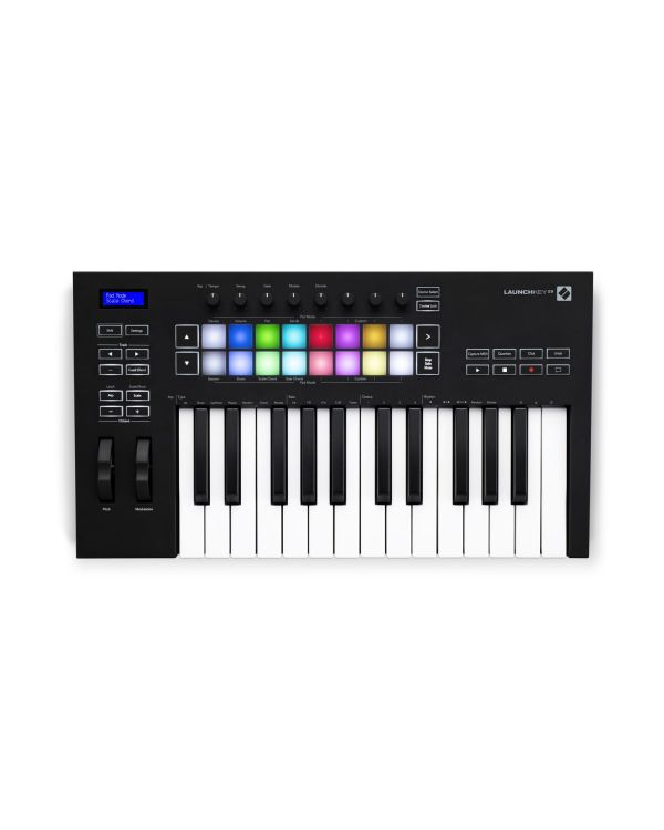 Novation Launchkey 25 Mk3 USB MIDI Keyboard