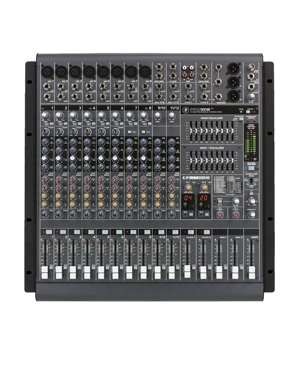 Mackie PPM1012 12 Channel Powered Mixing Desk
