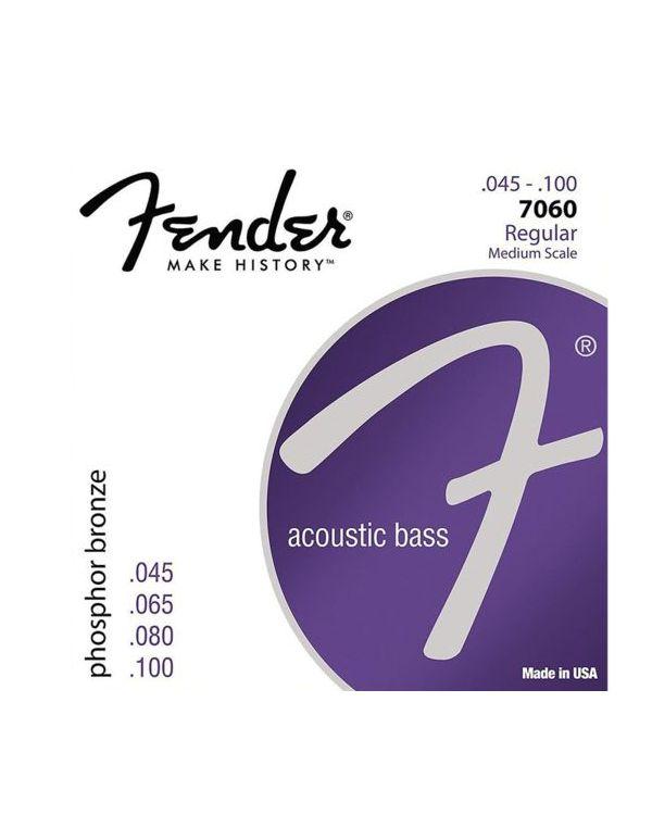 Fender 7060 Phosphor Bronze Acoustic Bass Strings Regular