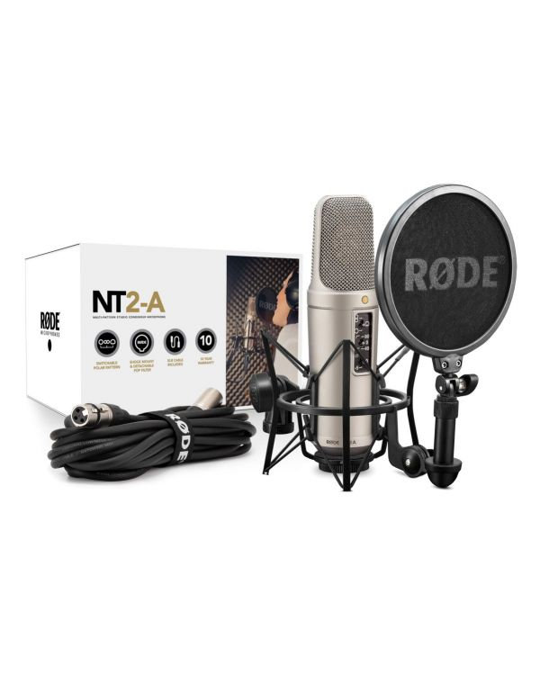 Rode NT2-A Studio Condenser Microphone Bundle