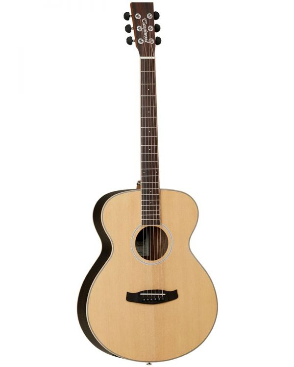 Tanglewood DBT F EB LH Left Handed Orchestra Acoustic Guitar
