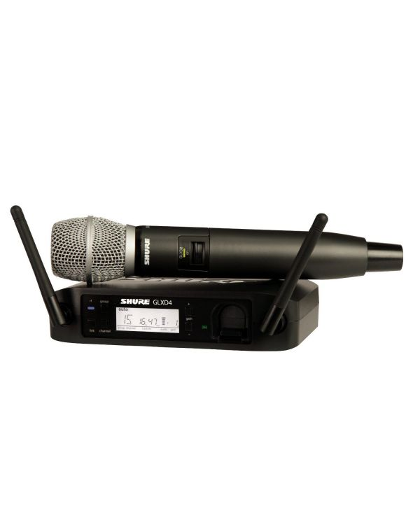 Shure GLXD24UK-SM86 Digital Wireless Handheld Mic System