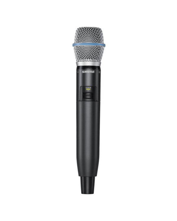 Shure GLXD2-B87A Digital Wireless Handheld Transmitter