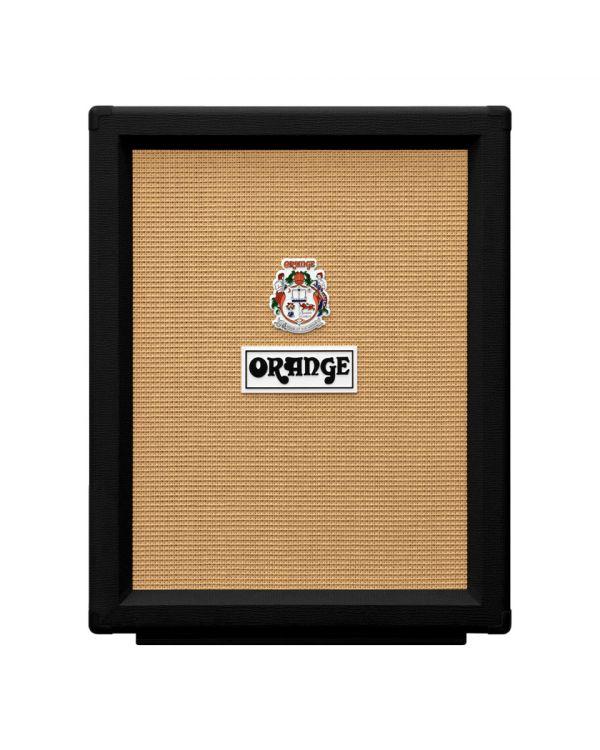 Orange PPC212 V Black Open Backed Speaker Cabinet