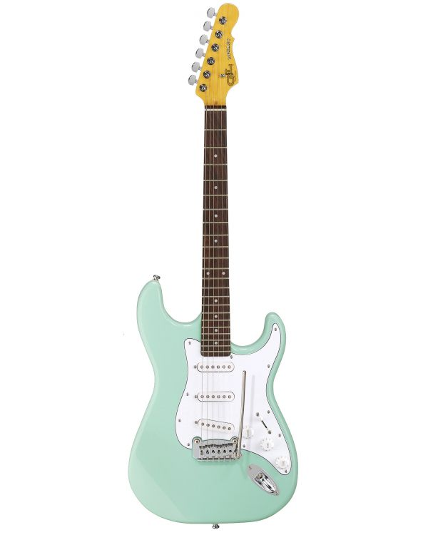 G&L Tribute Legacy Surf Green Brazilian Cherry Fingerboard