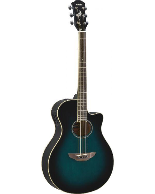 Yamaha APX 600 Electro-Acoustic Guitar Oriental Blue Burst