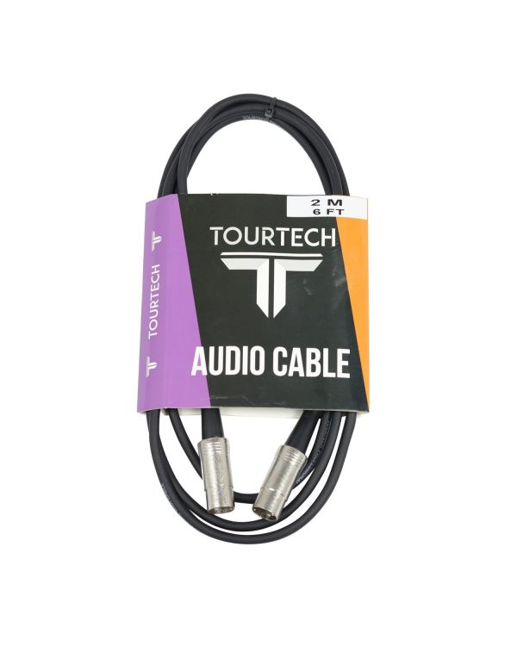 TOURTECH Metal MIDI Cable, 2m