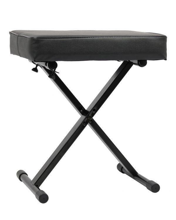 TOURTECH Padded X-Style Piano Stool