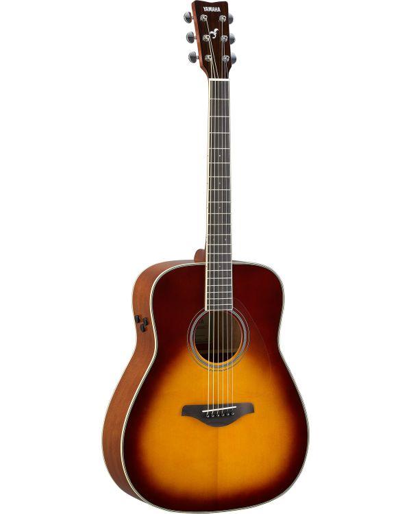 Yamaha FG-TA TransAcoustic Guitar Brown Sunburst