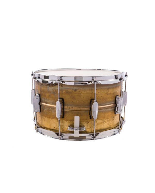 Ludwig 14x8 Raw Brass Phonic Snare Drum