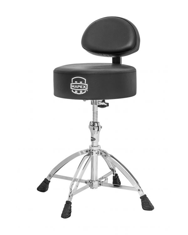 Mapex T770 Round Top Drum Throne with Back Rest