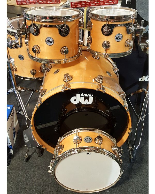 Drum Workshop Collectors Series Custom Kit in Natural Lacquer