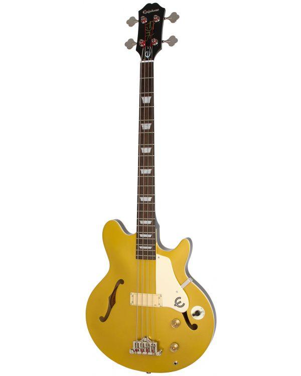 Epiphone Jack Casady Bass, Metallic Gold