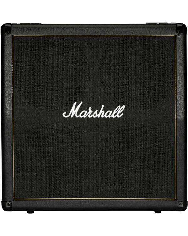 Marshall MG412AG-H 4 x 12 Black and Gold Angled Cab