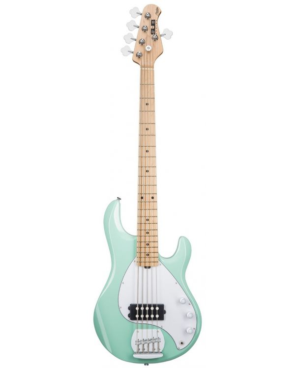 Sterling by Music Man SUB Ray5 5-String Bass Mint Green