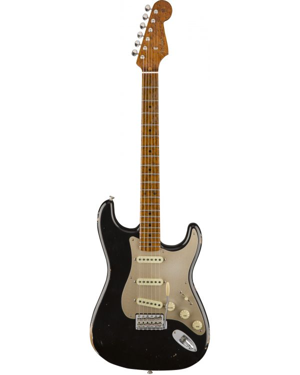 Fender CS LE 56 Fat Roasted Strat Relic Black