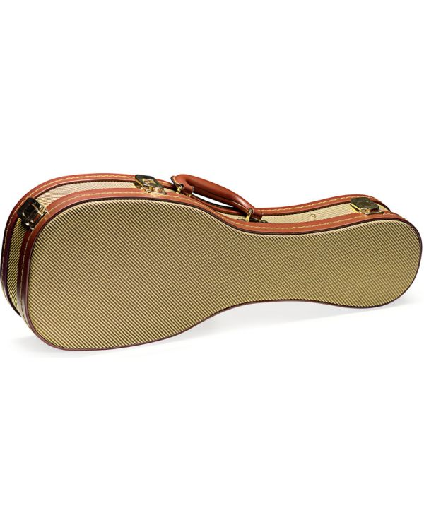 Stagg Gold Tweed Deluxe Baritone Ukulele Case
