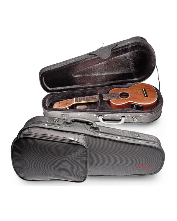 "Stagg HGB2UK-C 26.5"" Concert Ukulele Case"