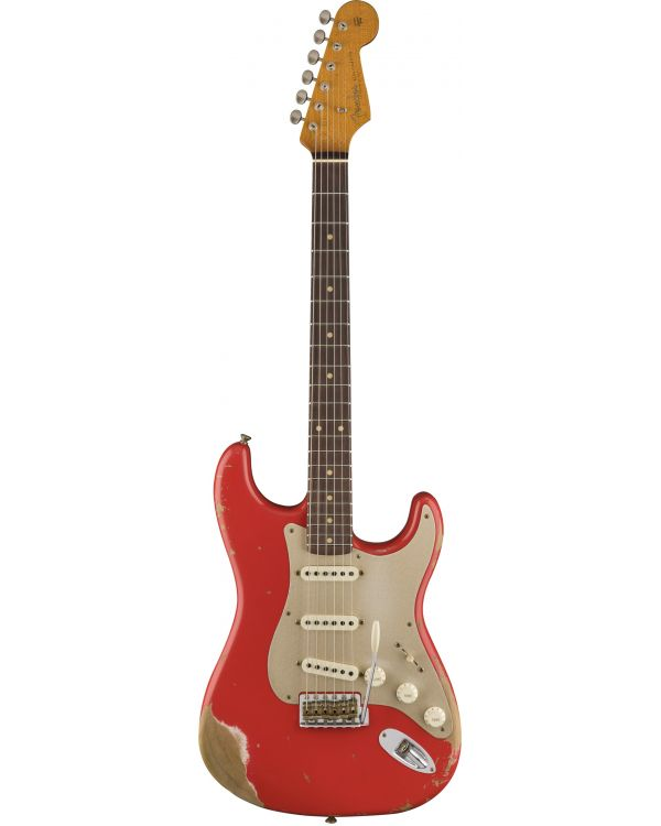 Fender Custom Shop LE 59 Strat Heavy Relic Aged Fiesta Red