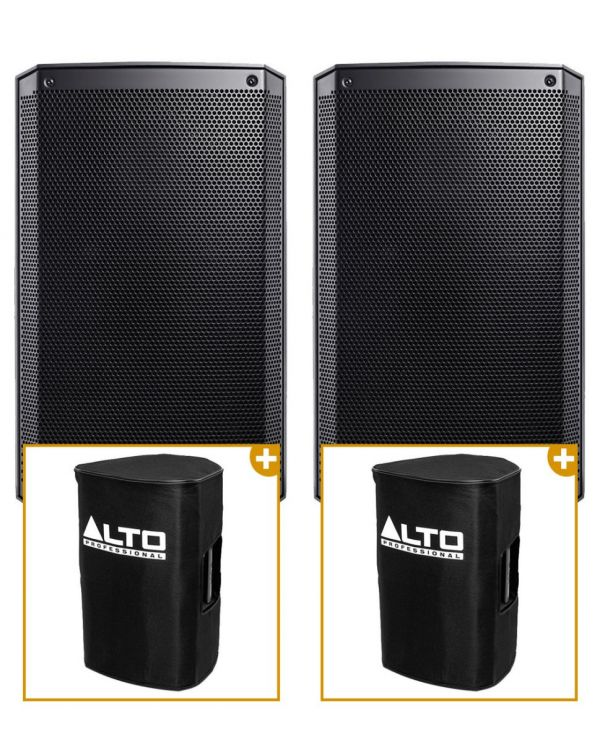 Alto Truesonic TS310 Active Loudspeakers (Pair) with Covers
