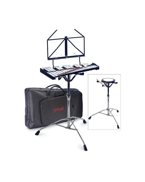 Stagg Metallophone With Practice PAD AND Stand
