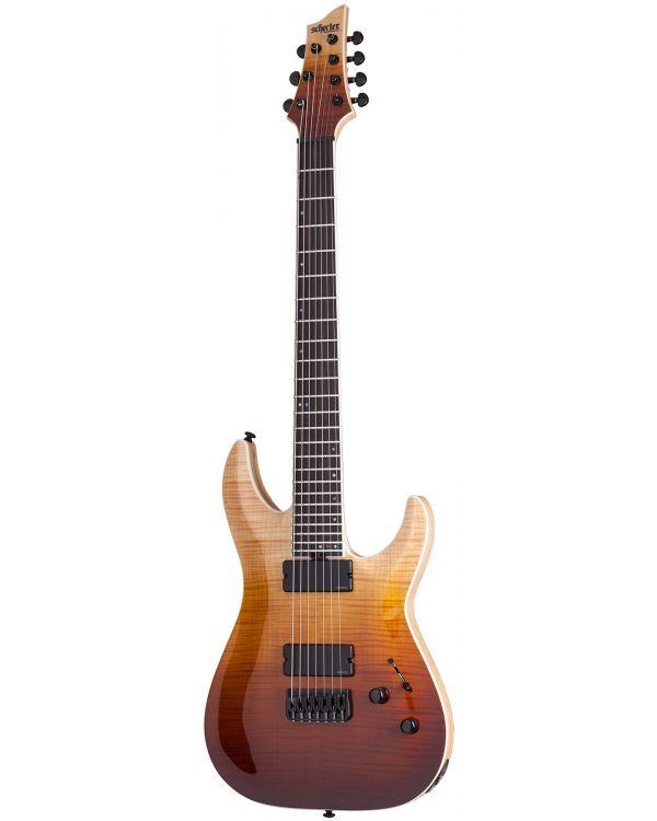 Schecter C-7 SLS Elite Electric Guitar, Antique Fade Burst