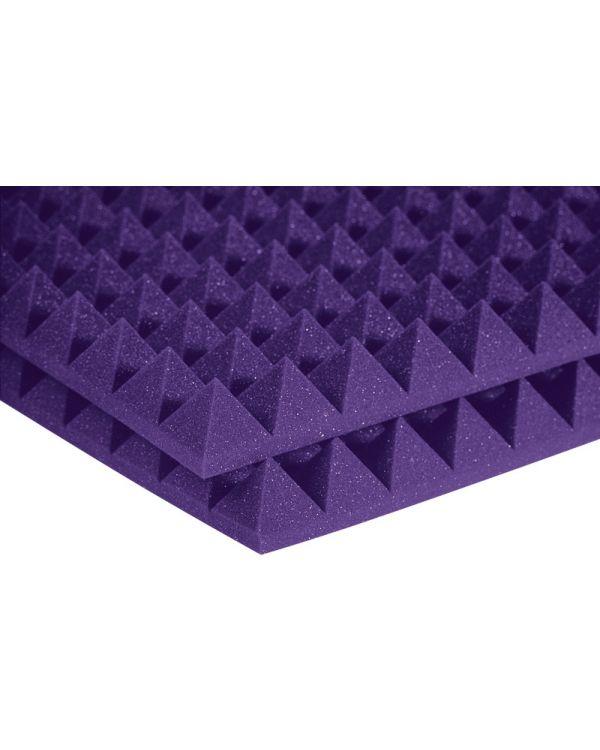 "Auralex 2"" Studiofoam 24 Pyramid in Purple (12 Pack)"