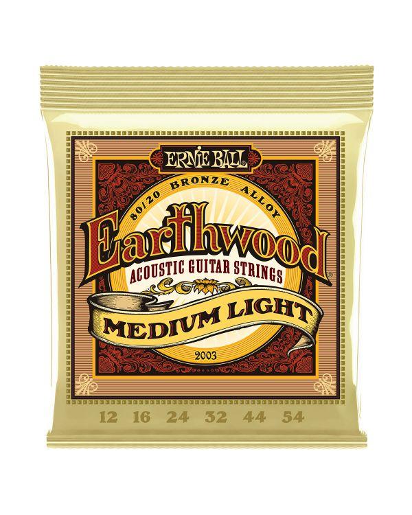 Ernie Ball Earthwood 2003 80/20 Bronze Med/light 12-54