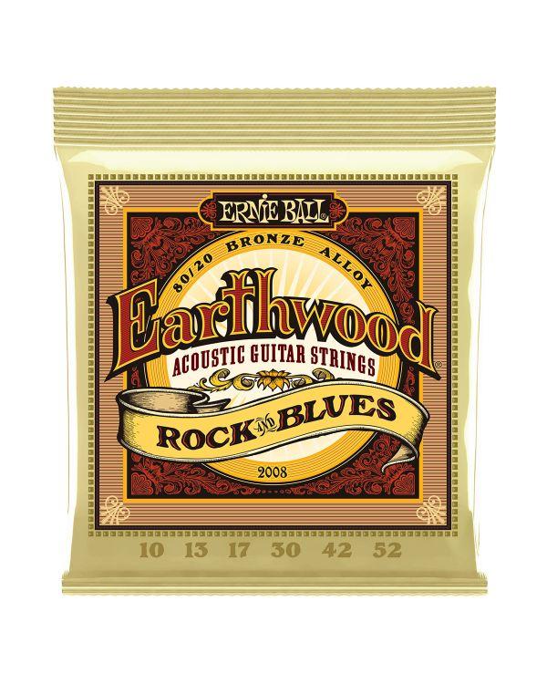 Ernie Ball Earthwood 2008 80/20 Bronze R&B Set 10-52