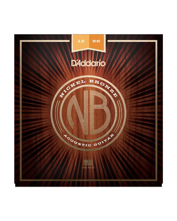 DAddario Nickel Bronze Light Top/Med Bottom Acoustic Strings .012-.056