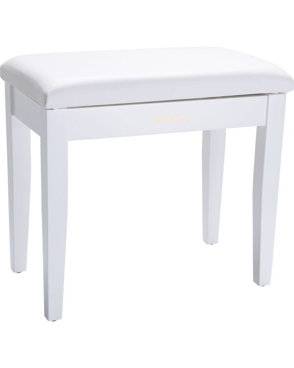 Roland RPB-100 Piano Bench with Storage Compartment White