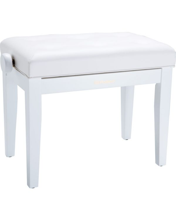 Roland RPB-300 Height Adjustable Piano Bench Satin White