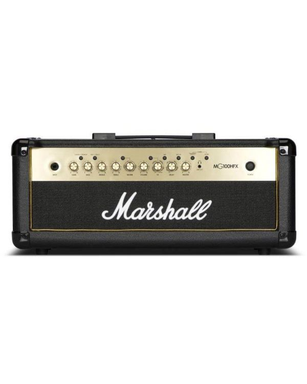 Marshall MG100HGFX-H 100W Black and Gold Amp Head