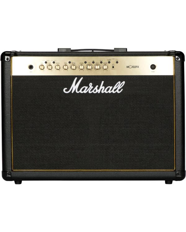"Marshall MG102GFX-H 100W Black and Gold Guitar Combo 2 x 12"" Speakers"