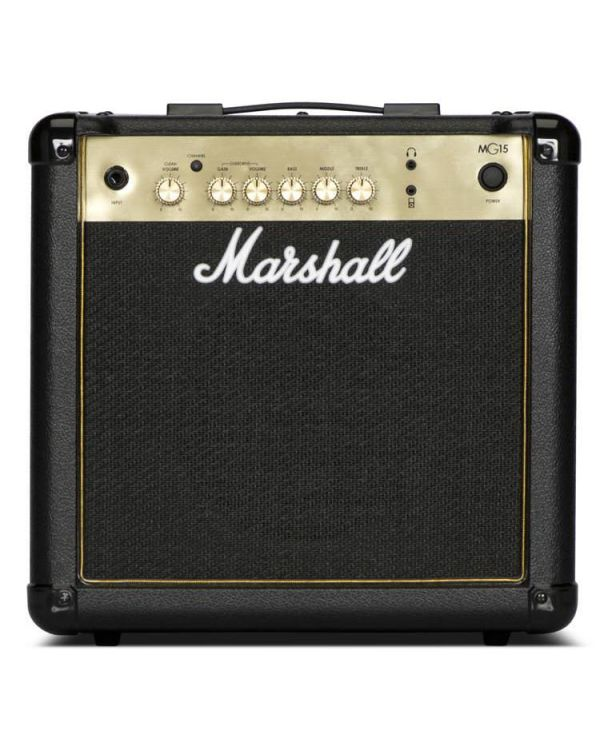 Marshall MG15G-H 15W Black and gold Guitar Combo