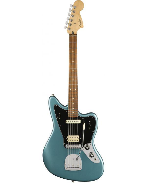 Fender Player Jaguar Electric Guitar, PF, Tidepool