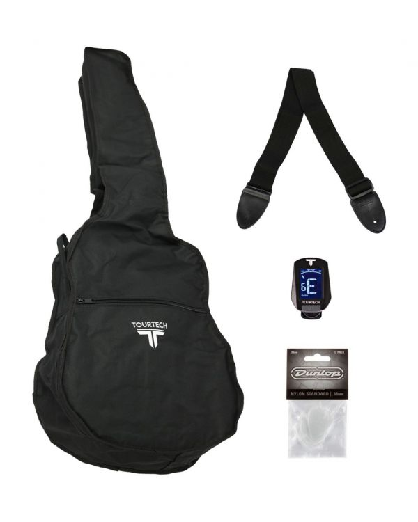 TOURTECH Acoustic Guitar Accessory Pack